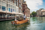 Cruise on wooden runabout