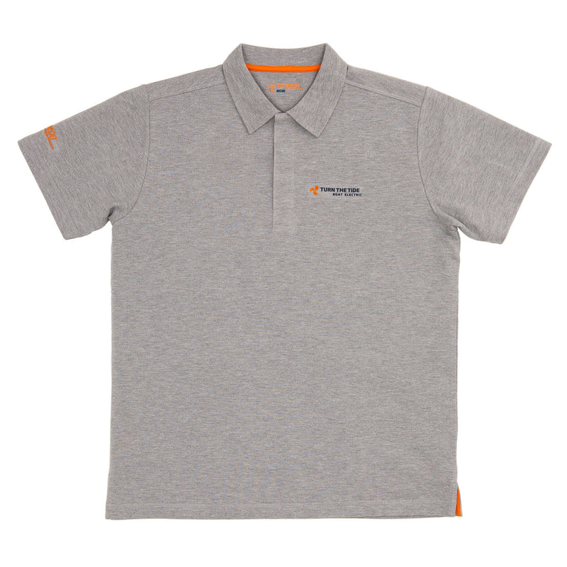 Torqeedo Polo Shirt K1 men grey