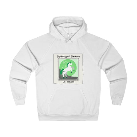 "Munzee ""Mythological Munzees - The Unicorn"" Hoodie"