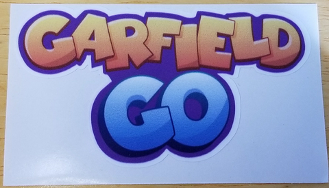 Garfield Go Logo Decal