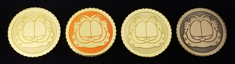 Garfield Go Collectible Coins