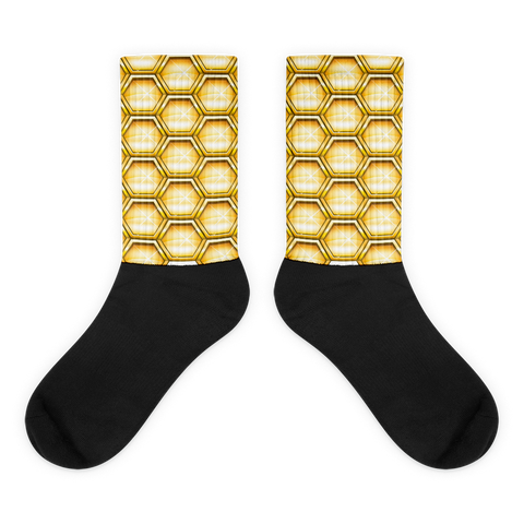 WallaBee Honeycomb Socks