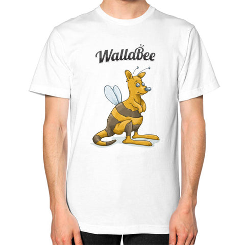 WallaBee Unisex T-Shirt White - munzeestore