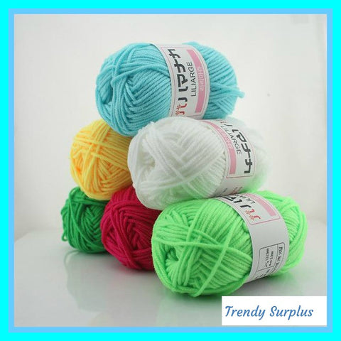 Cute 6 Piece Yarn Set All In 1