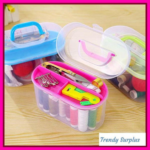 Very Cute Sewing Kit Box Set - Trendy Surplus