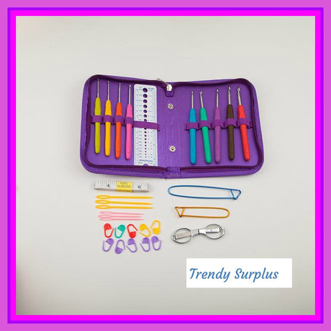 Very Cute Knitting And Crocheting Kit ( Discounted) - Trendy Surplus
