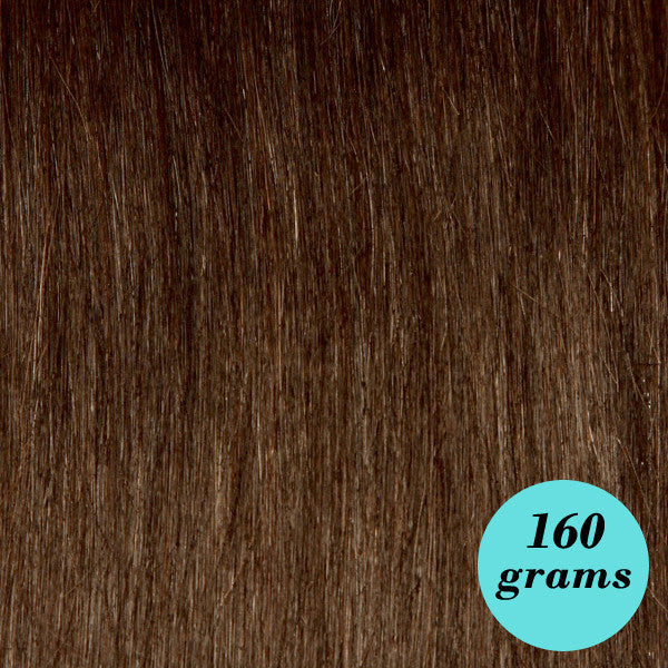 "Leyla Milani -  #10 Medium Chestnut 20"" Clip In Hair Extensions - My Beauty Supply Center Inc."