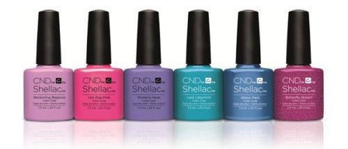 CND Creative Nail Design Shellac - Garden Muse Collection Set Of 6 - My Beauty Supply Center Inc.