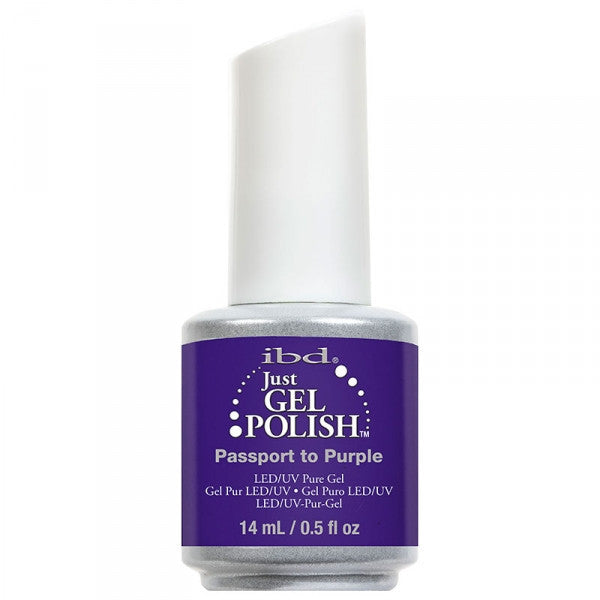 IBD Just Gel - Passport To Purple #65416 - My Beauty Supply Center Inc.