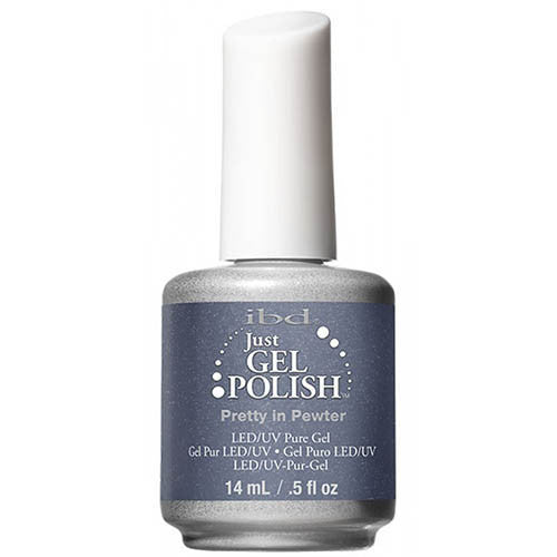 IBD Just Gel - Pretty In Pewter #56685 - My Beauty Supply Center Inc.