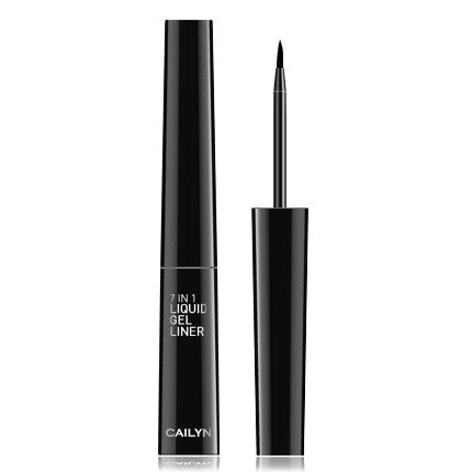 Cailyn 7 in 1 Liquid Gel Liner - Black #01 - My Beauty Supply Center Inc.