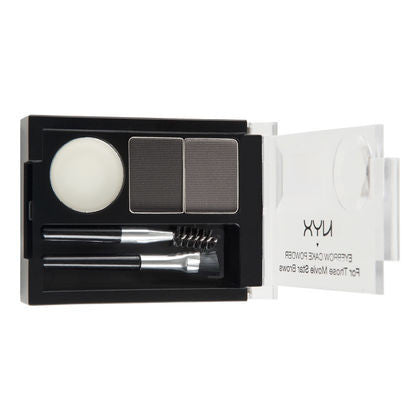 NYX Eyebrow Cake Powder - Black/Gray #01 - My Beauty Supply Center Inc.