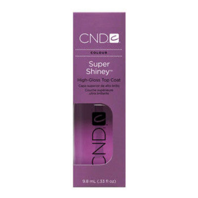 CND Super Shiney High-Gloss Top Coat 0.33 oz - My Beauty Supply Center Inc.