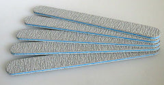 Nail Files 50 ct Zebra/Blue - 100/180