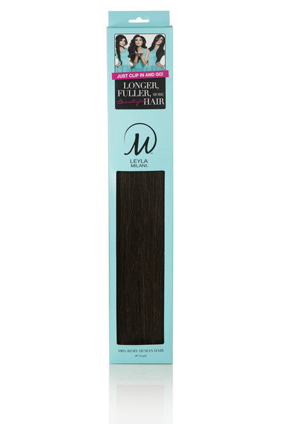 "Leyla Milani -  #1 Jet Black 20"" Clip In Hair Extensions - My Beauty Supply Center Inc."