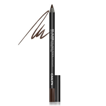 Cailyn Gel Glider Eyeliner Pencil - Chocolate #02 - My Beauty Supply Center Inc.