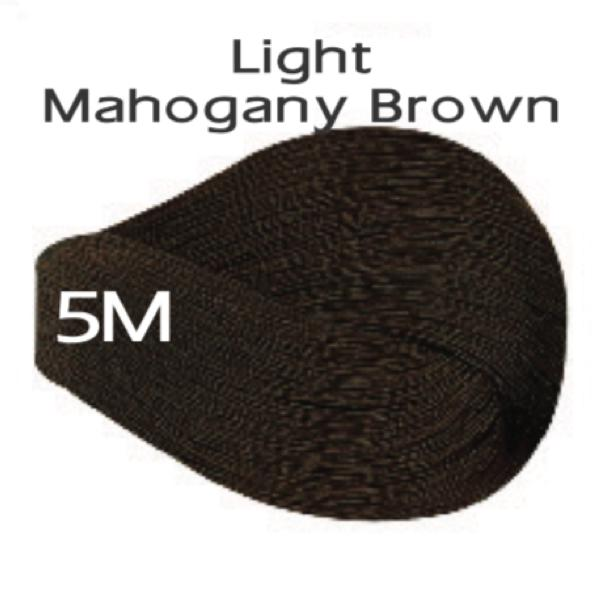 Vivitone Permanent Hair Color - Light Mahogany Brown #5M