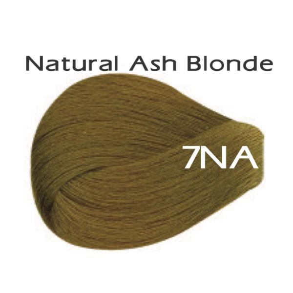 Vivitone Permanent Hair Color - Natural Ash Blonde #7NA