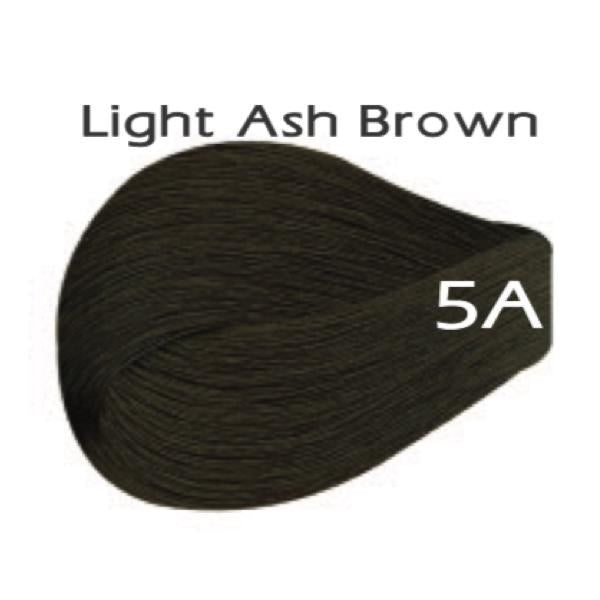 Vivitone Permanent Hair Color - Light Ash Brown #5A