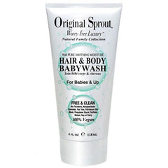 Original Sprout Hair & Body Baby Wash 4 oz