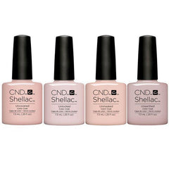 CND Creative Nail Design Shellac - Nudes Collection