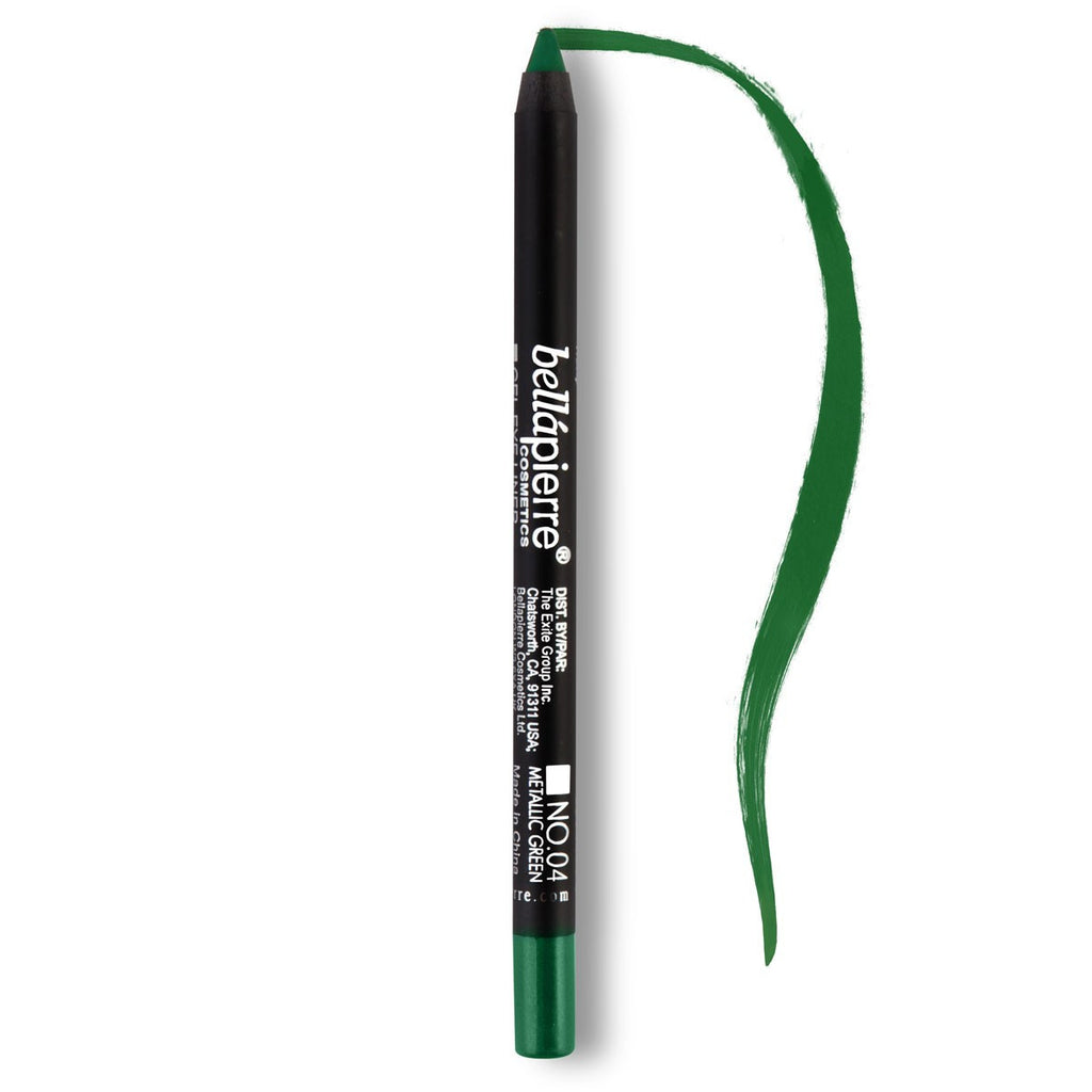 Bellápierre Waterproof Gel Eyeliner - Metallic Green - My Beauty Supply Center Inc.