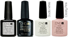 CND Shellac French Manicure Collection
