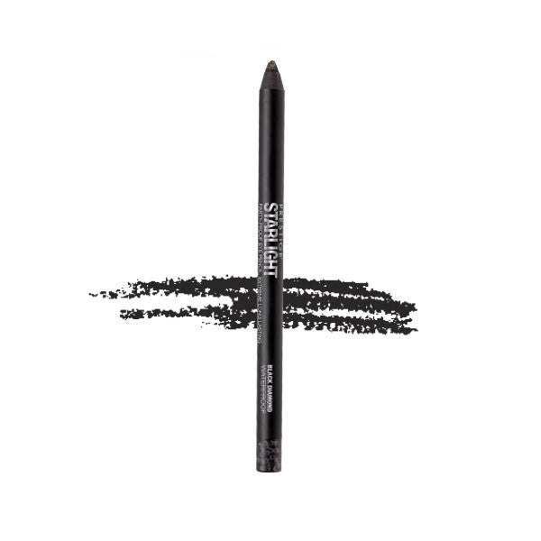 Prestige Starlight Party-Proof Eye Shadow & Pencil - Black Diamond #GGP-01 - My Beauty Supply Center Inc.