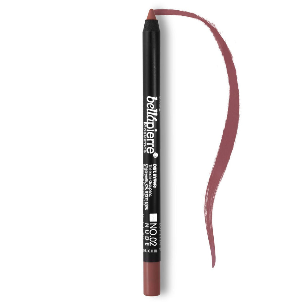 Bellápierre Waterproof Gel Lip Liner - Nude #02 - My Beauty Supply Center Inc.