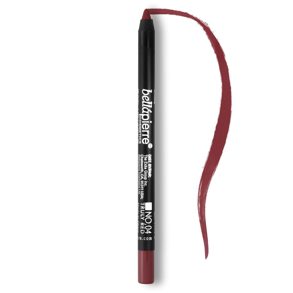 Bellápierre Waterproof Gel Lip Liner - Truly Red #04 - My Beauty Supply Center Inc.
