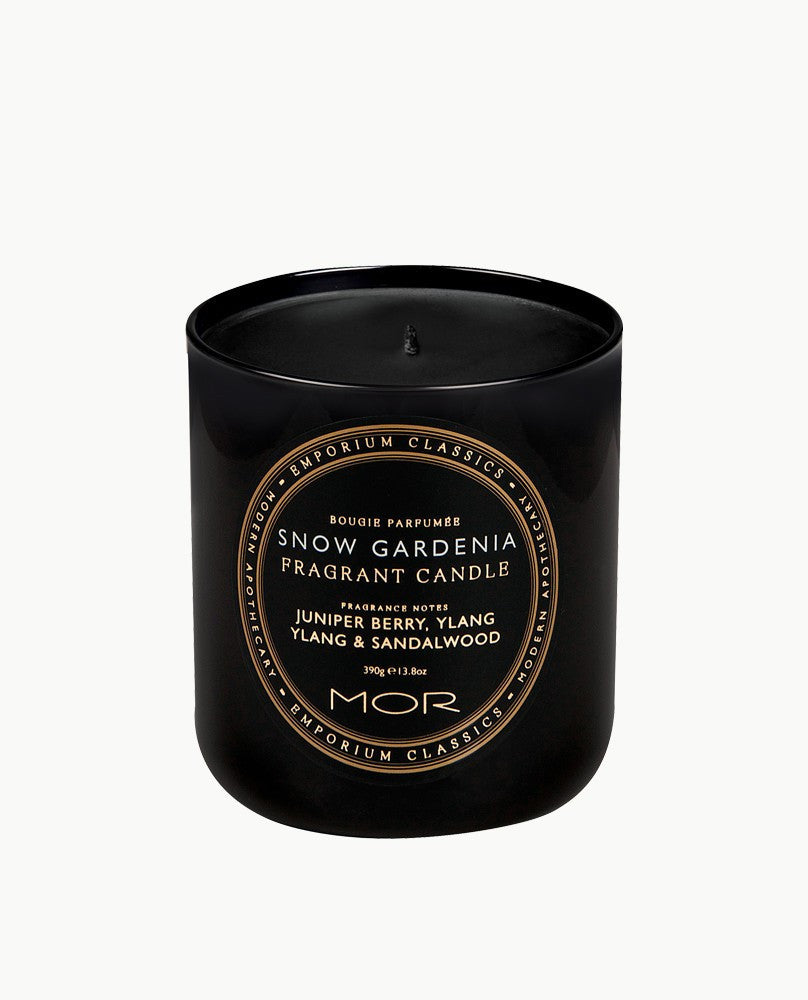 MOR Snow Gardenia Fragrant Candle - My Beauty Supply Center Inc.