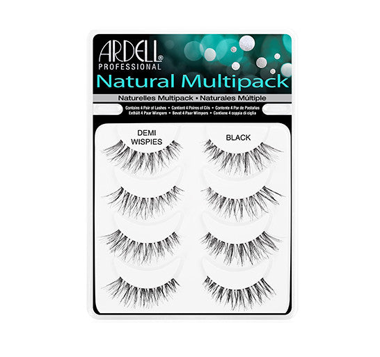 Ardell Natural Multipack Lashes - Demi Wispies #240494 - My Beauty Supply Center Inc.