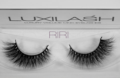 Luxilash Riri 3D Mink Strip Lashes