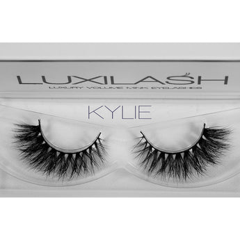 Luxilash Kylie, 3D Lashes, Mink Eye Lash Extensions.