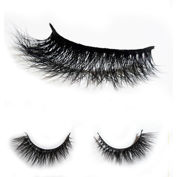 Luxilash Riri, 3D Lashes, Cruelty free Mink Eye Lash Extensions.