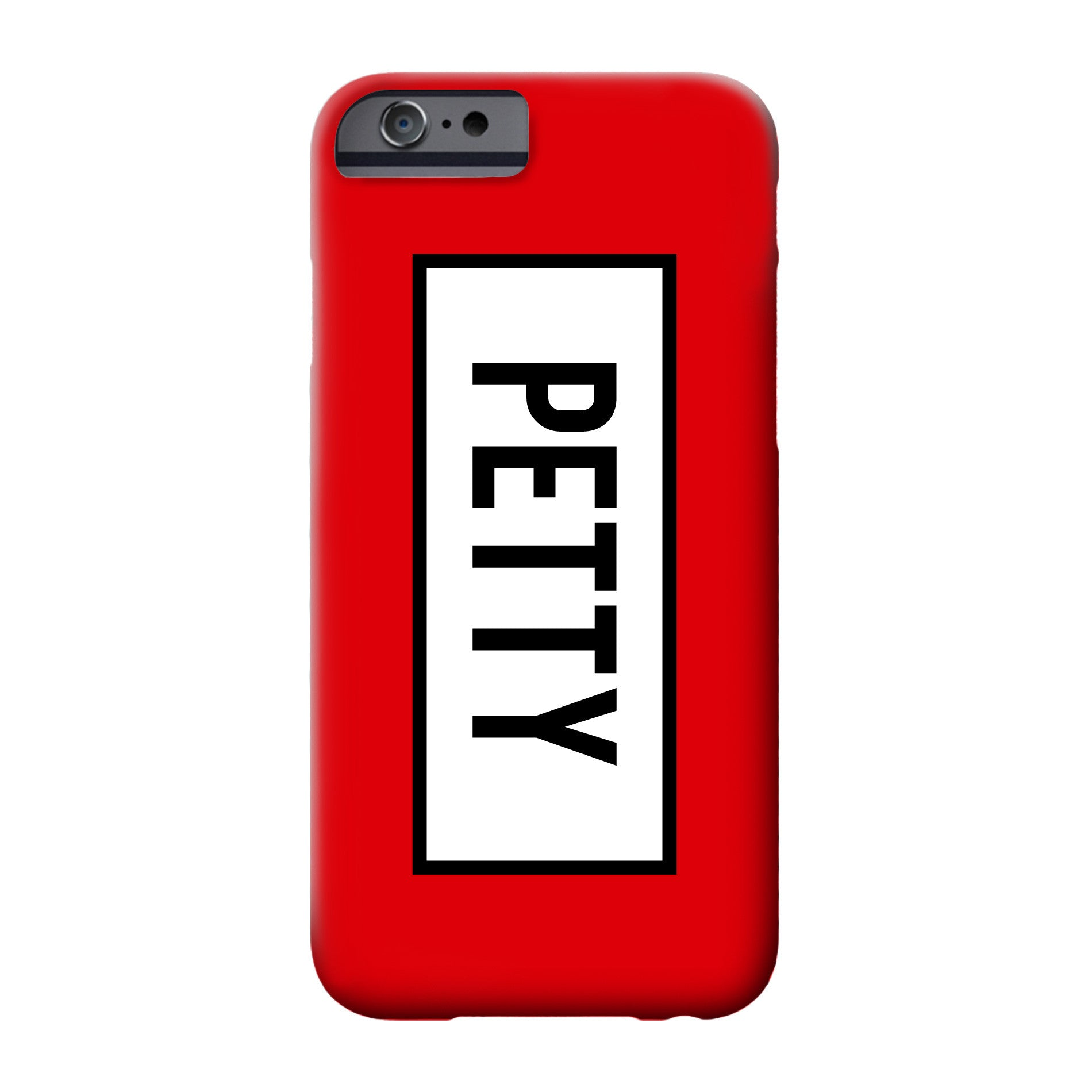 Petty Red Phone Case