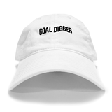 Goal Digger White Dad Hat