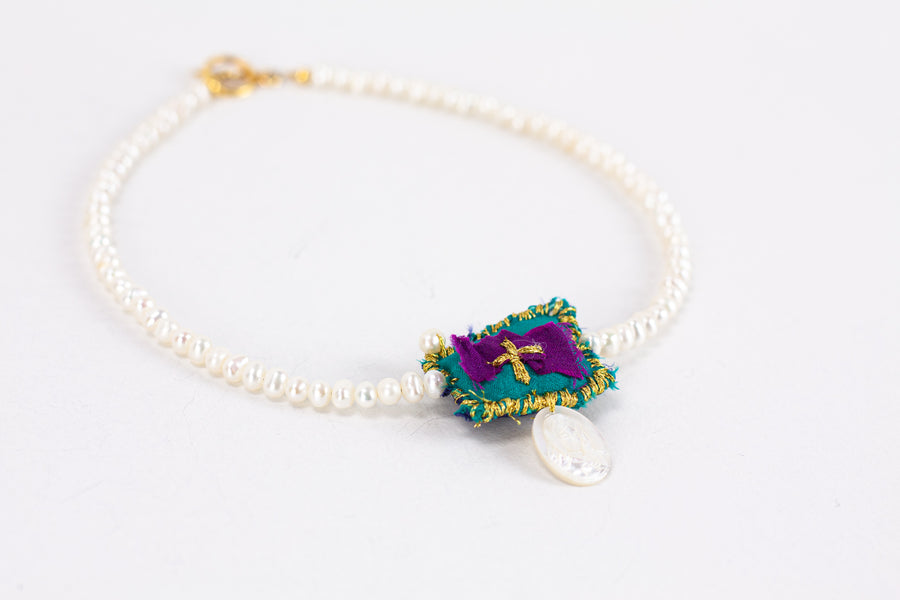 Talisman Pearl Necklace