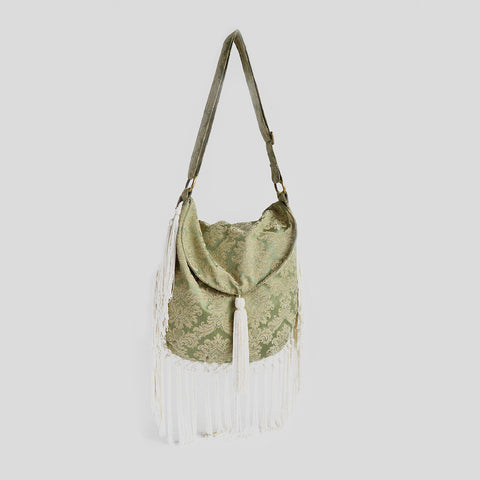 Green oasis cross bag