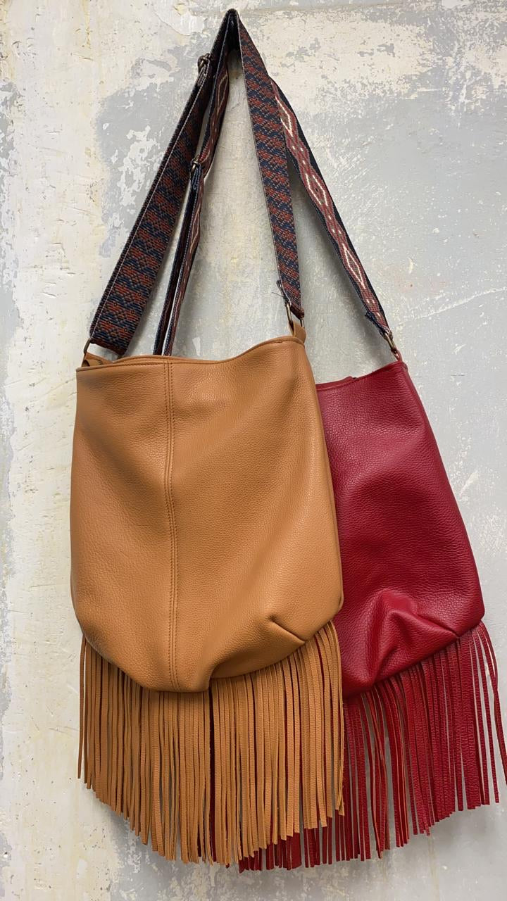 The Magic fringed leather bag