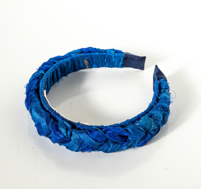 Nefeli silk braid headband