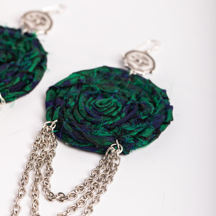 Absinthe Drip earrings