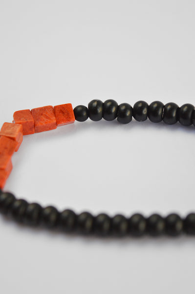 "The ""Bitten Peach"" Bracelet for men"
