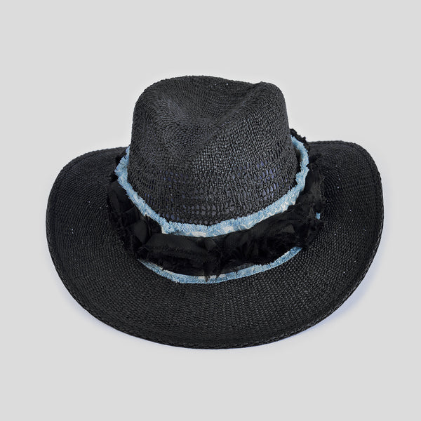 """Black Rose"" Hat"