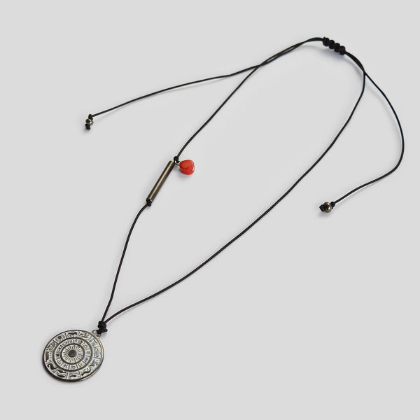 """Life in circles"" Necklace for men"