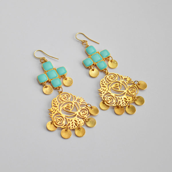 "The ""Cool Mint"" earrings"