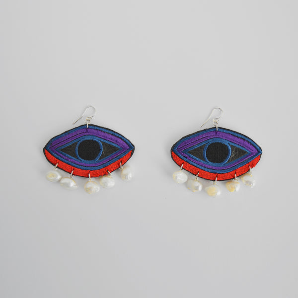 "The ""Eye Love You"" earrings"