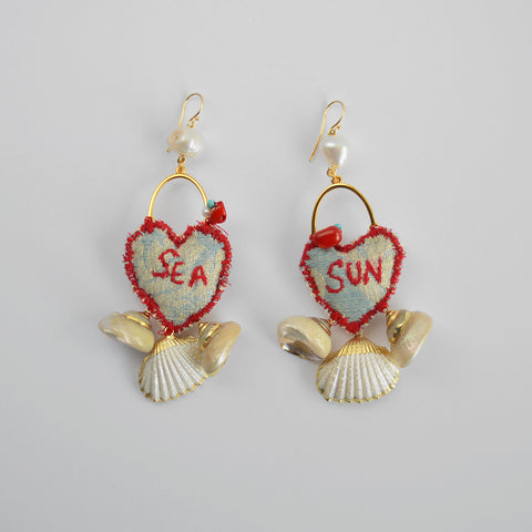 "The ""Meant to Be"" earrings"