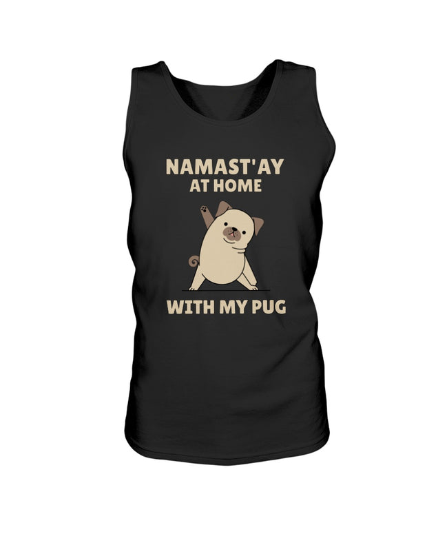Namast'ay Home With My Pug