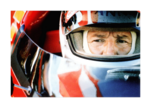 Indy 500: Mario Andretti in the pits 18x12 canvas wrap